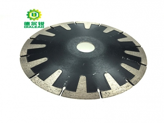 T Segmented Concave Saw Blade