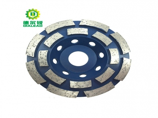 Double Row Segmented Cup Wheel